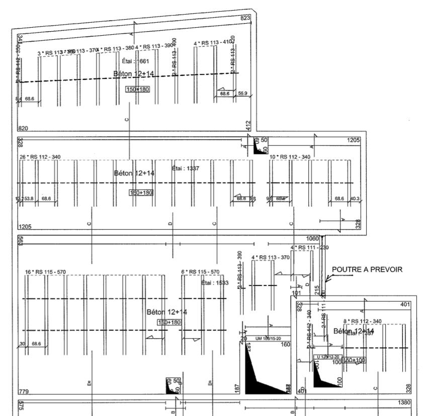 est il judicieux de faire un plancher coupe feu 2 h en poutrelles hourdis le plancher. Black Bedroom Furniture Sets. Home Design Ideas