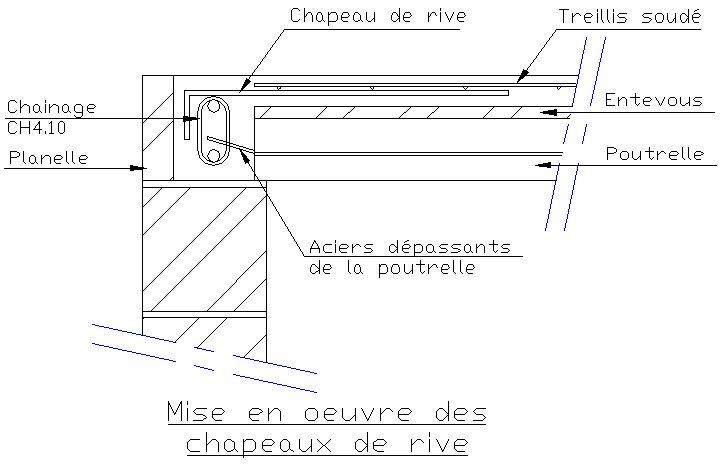 Le plancher non sismique le plancher poutrelles hourdis - Diametre treillis soude pour terrasse ...