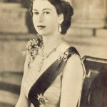 The British Queen Elisabeth II (1957)